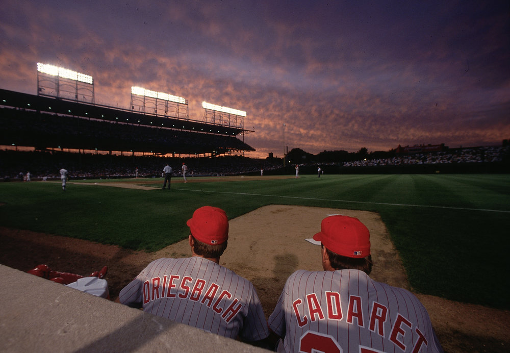 Cincinnati Reds Bullpen, 1992