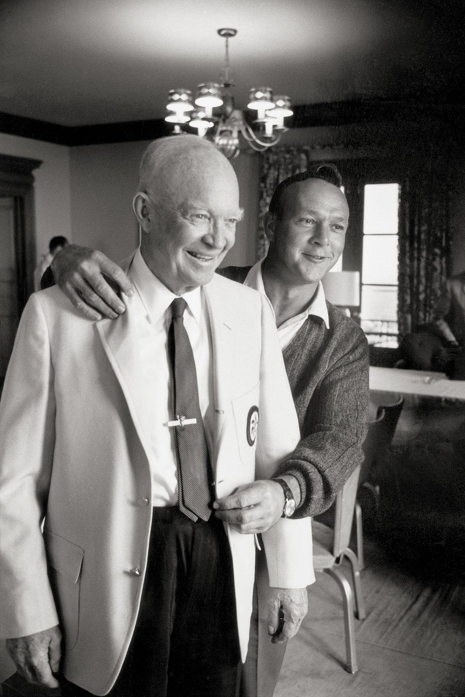 Dwight Eisenhower & Arnold Palmer, 1965