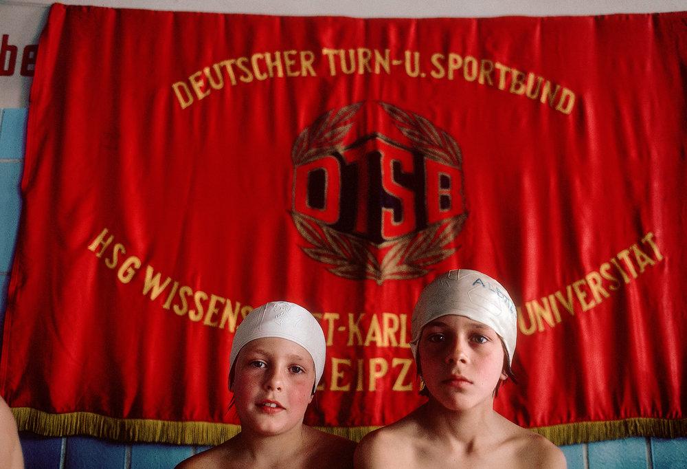 East German Swimmers, 1976