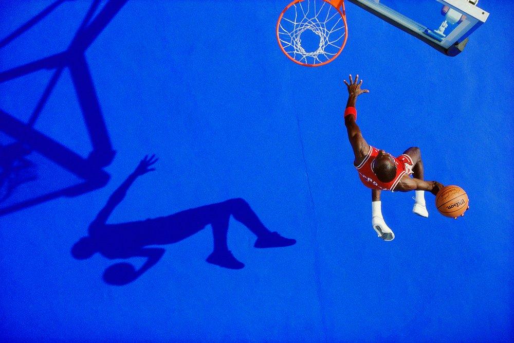 The Blue Dunk, Michael Jordan, 1987
