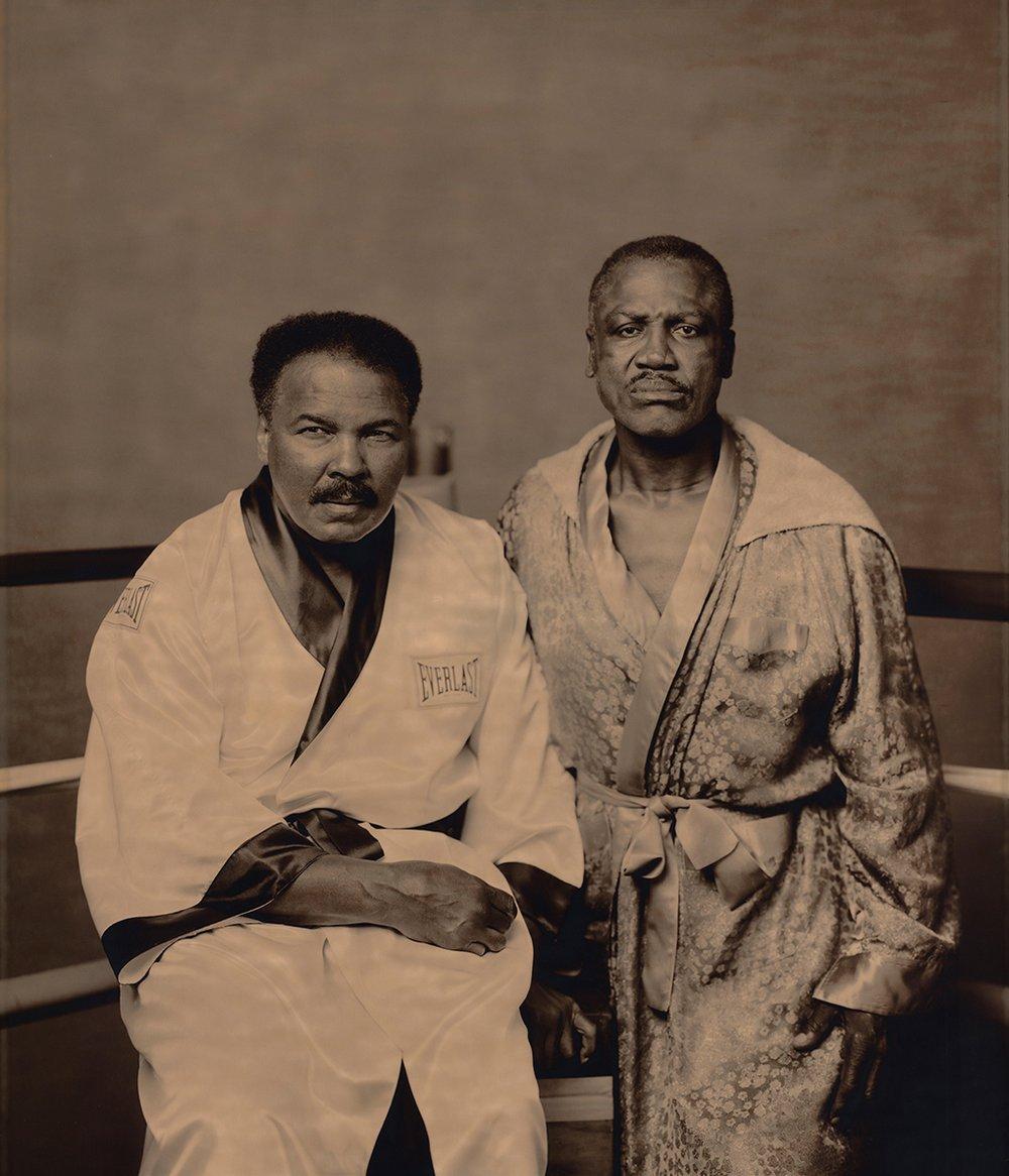 Muhammad Ali & Joe Frazier, 2003