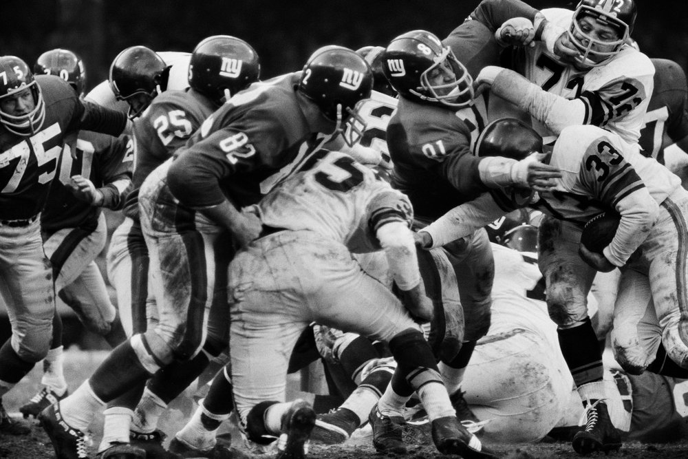 Pittsburgh Steelers vs. New York Giants, 1963