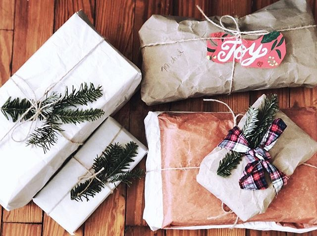 DIY recycled gift wrapping 🎁