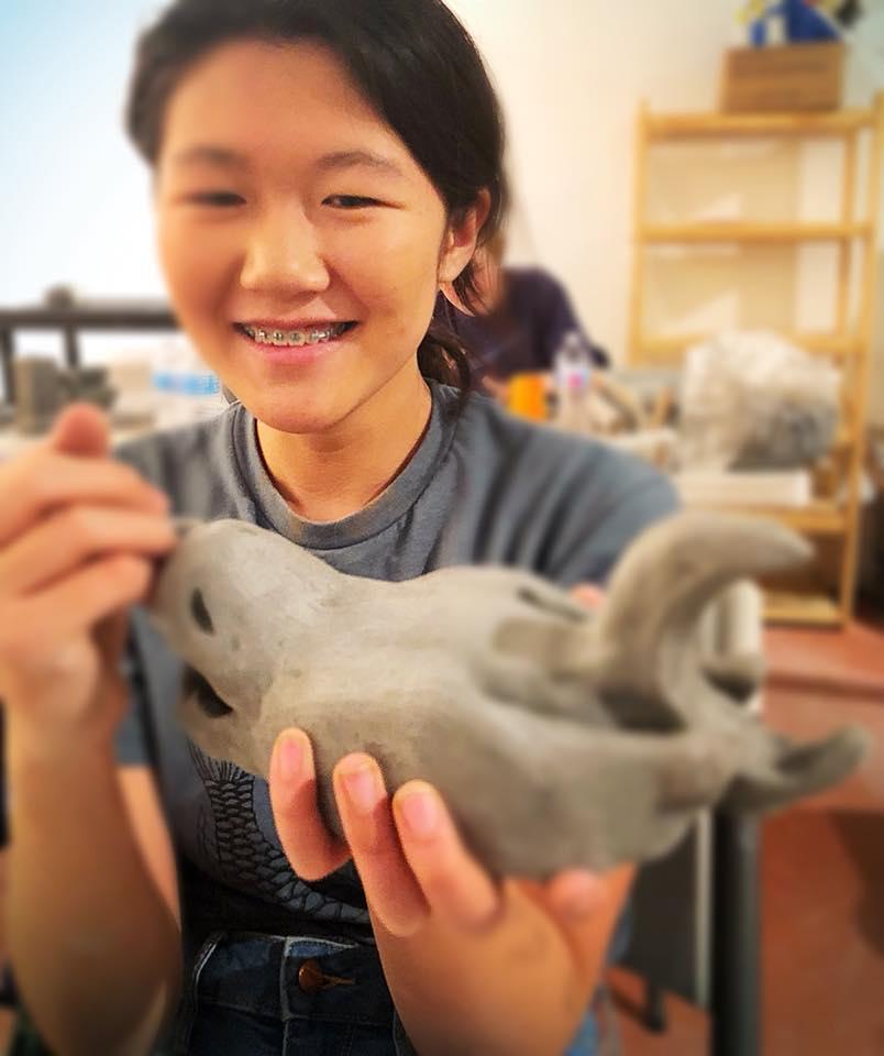 teen pottery ceramics class