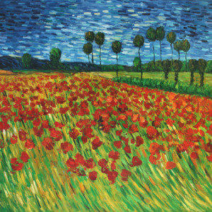 Field Of Poppies By Vincent Vangogh Make Time