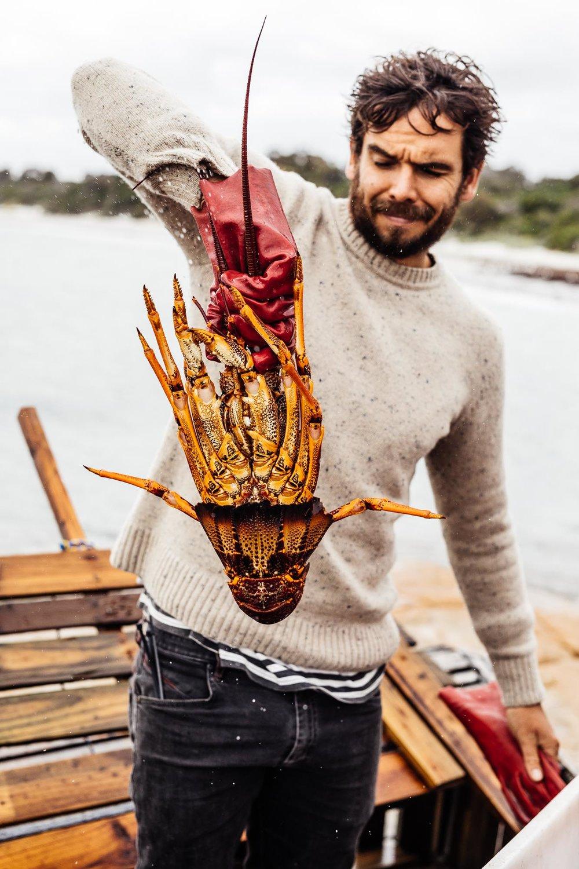 Mark Labrooy - Three Blue Ducks - Flinders Island Food & Crayfish Festival