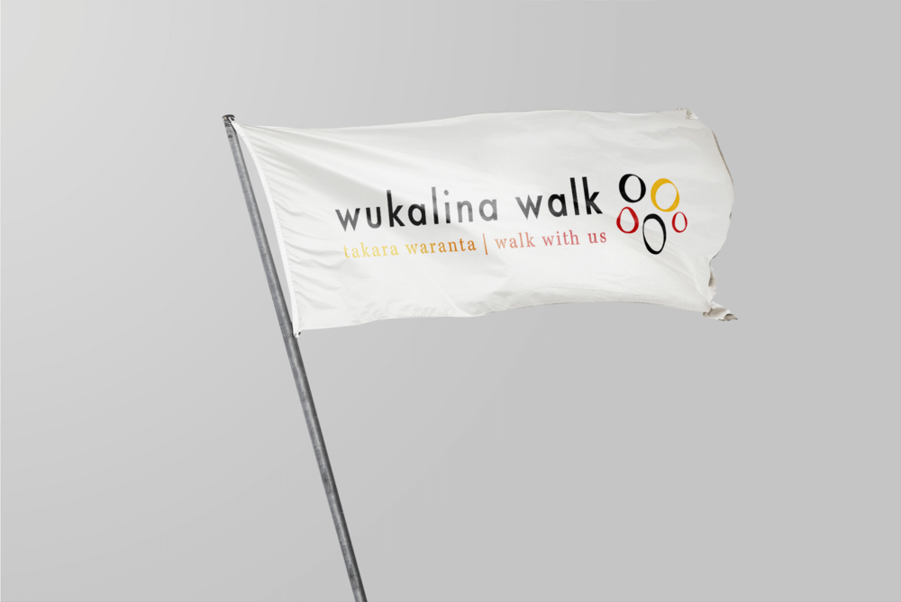 Graphic Design Example - Wukalina Walk