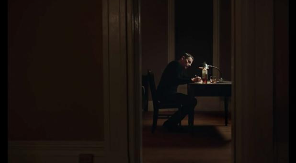 Ethan Hawke in  First Reformed , courtesy of A24
