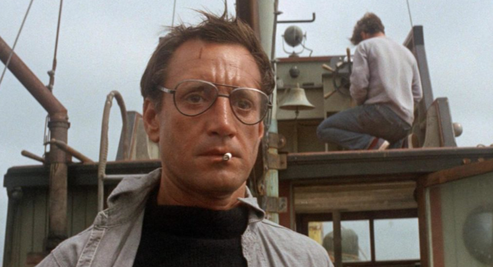 Roy Scheider in  Jaws,  Courtesy of Universal Pictures