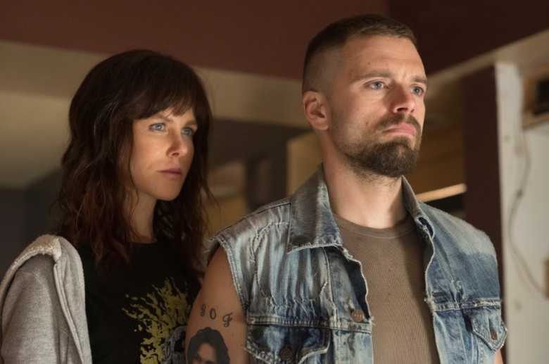 Nicole Kidman & Sebastian Stan in  Destroyer , courtesy of Annapurna Pictures