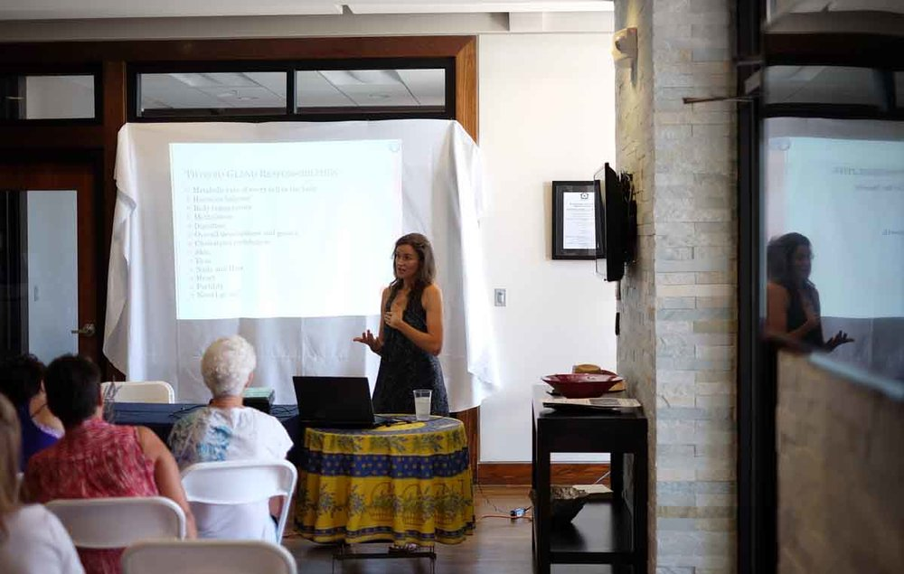 Informative Presentations - Lavender Festival presents informative workshops on health, herbs and the environment. Schedule will be posted in June 2019.