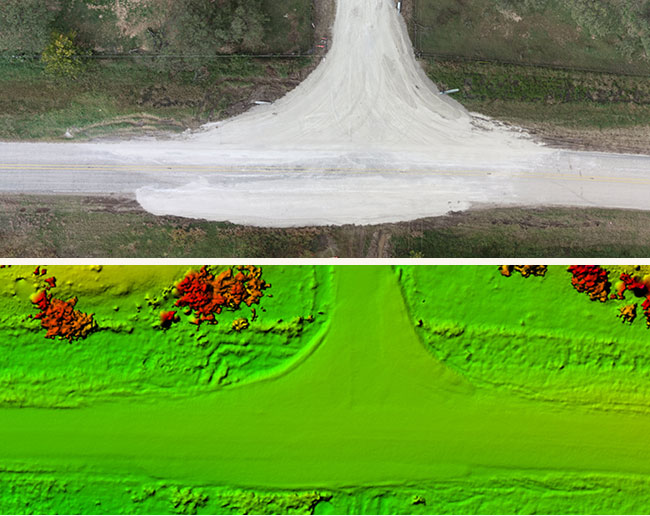Current Property and Road Conditions - Clients receive 360 degree images, Hangar imagery, elevation data, and Maps to Megawatts video with current high-resolution data.