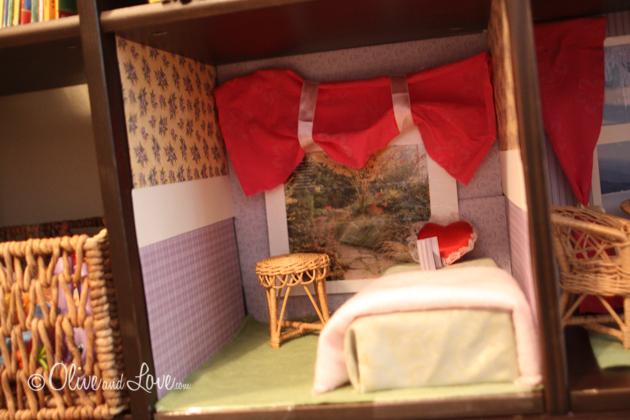 book shelf doll house