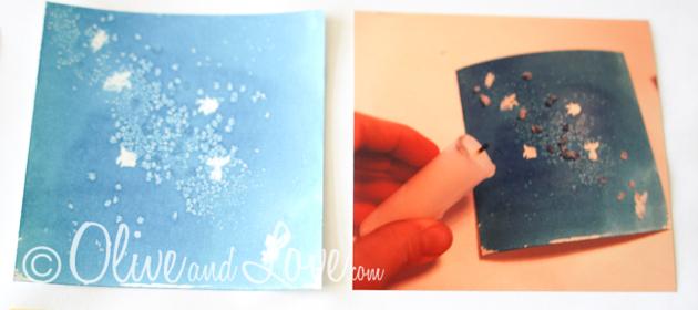 wax resist watercolor, salt resist watercolor