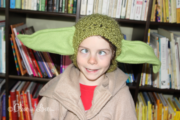 yoda ear costume halloween tutorial DIY