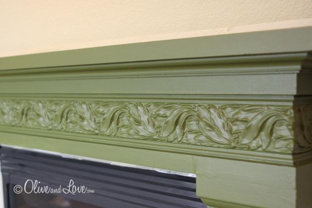 glazing fireplace