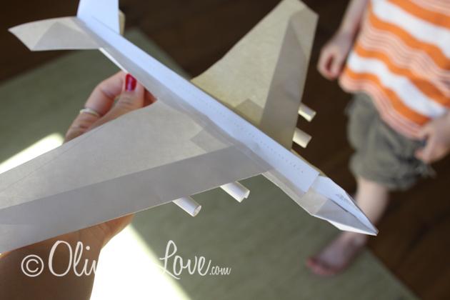 747 Jumbo paper airplane