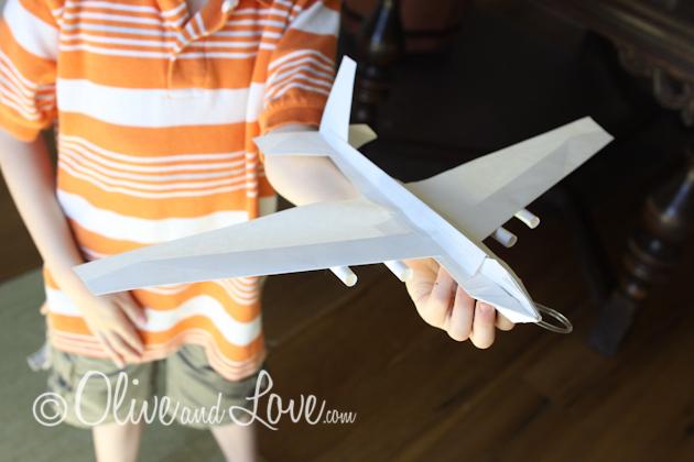747 jumbo jet paper airplane