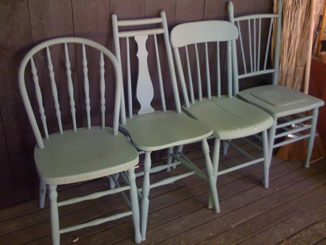 chairs for shutter wall country living