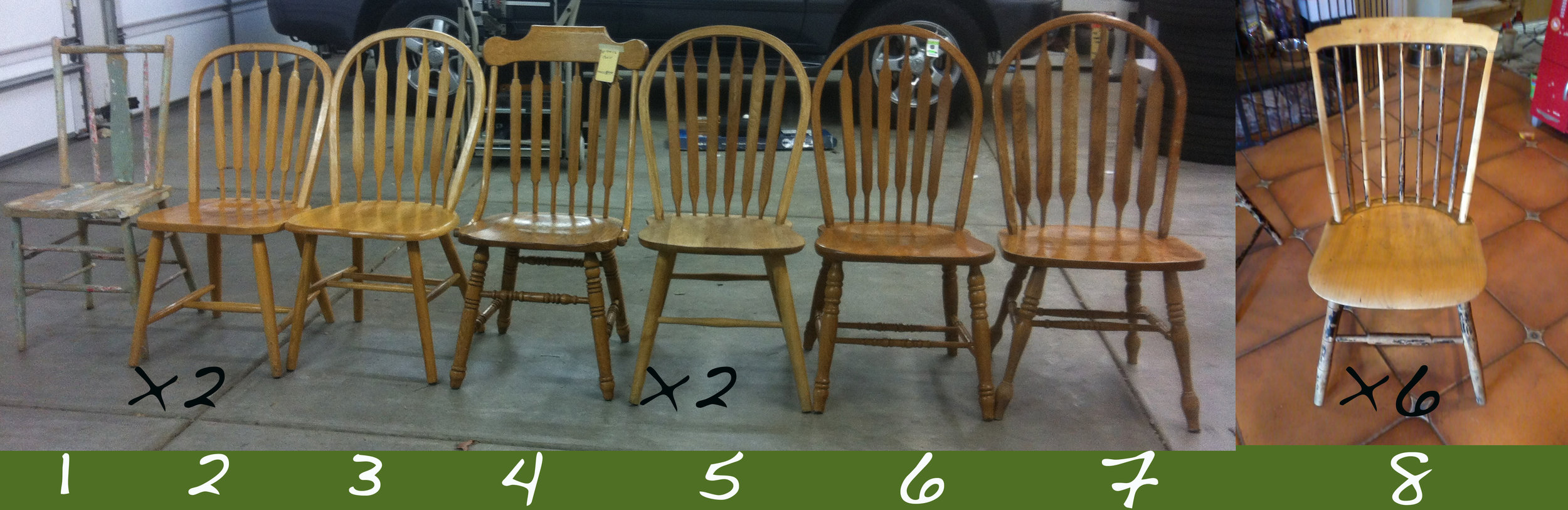 windsor chair assortment collection