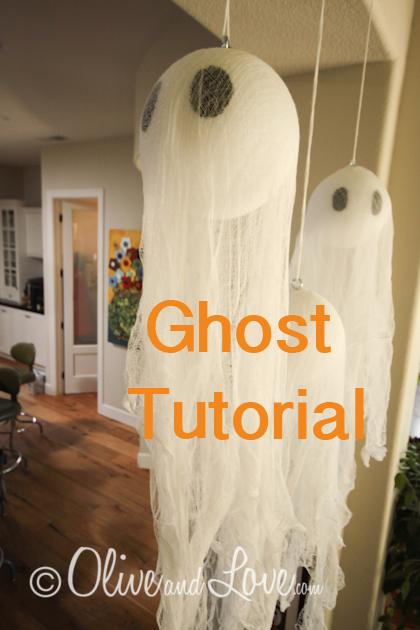 Pottery Barn Ghost tutorial