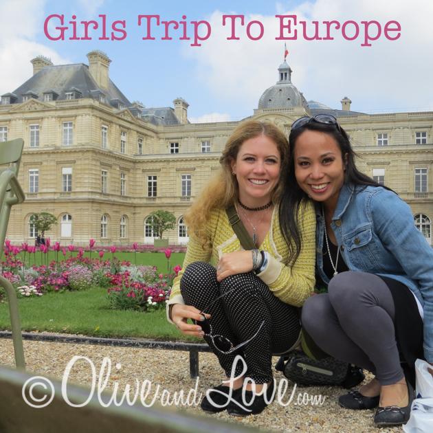 Girls Trip to Europe