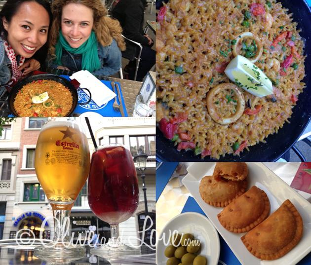 paella spain girls trip to europe