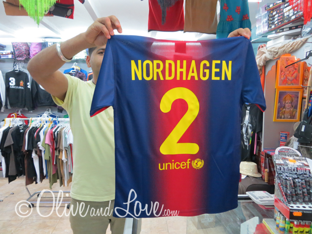personalized shirts team barcelona spain girls trip to europe