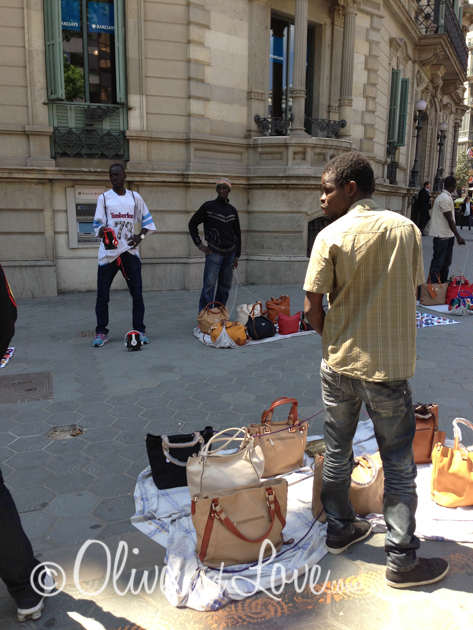 street vendors barcelona spain girls trip to europe