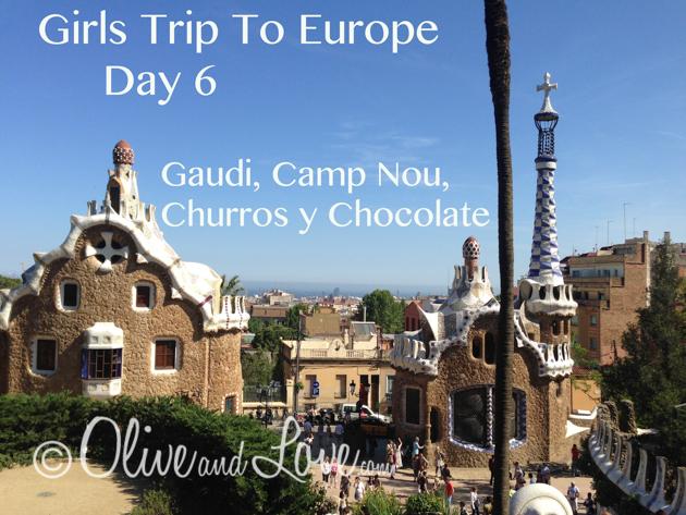 Girls trip to europe barcelona day 6