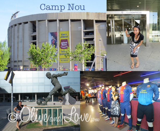 Camp Nou barcelona Spain girls trip to Europe