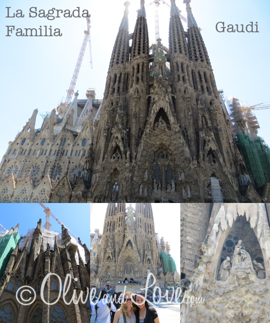 La Sagrada Familia girls trip to europe barcelona spain