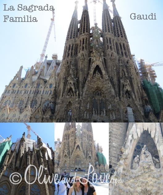 La Sagrada Familia girls trip to europe barcelona spain