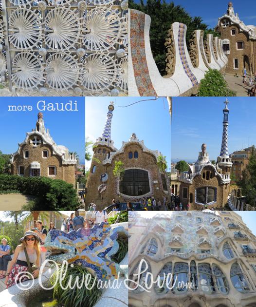 Gaudi barcelona spain girls trip to europe