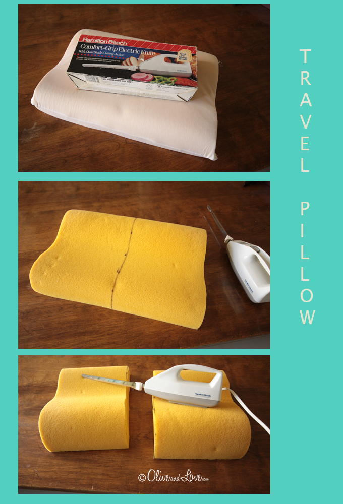 travel pillow diy tutorial how to