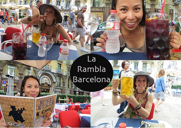 la rambla barcelona girls trip to europe