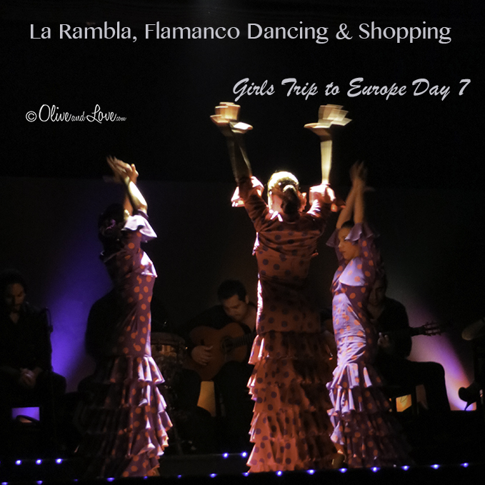 Girls trip to europe flamenco dancing barcelona