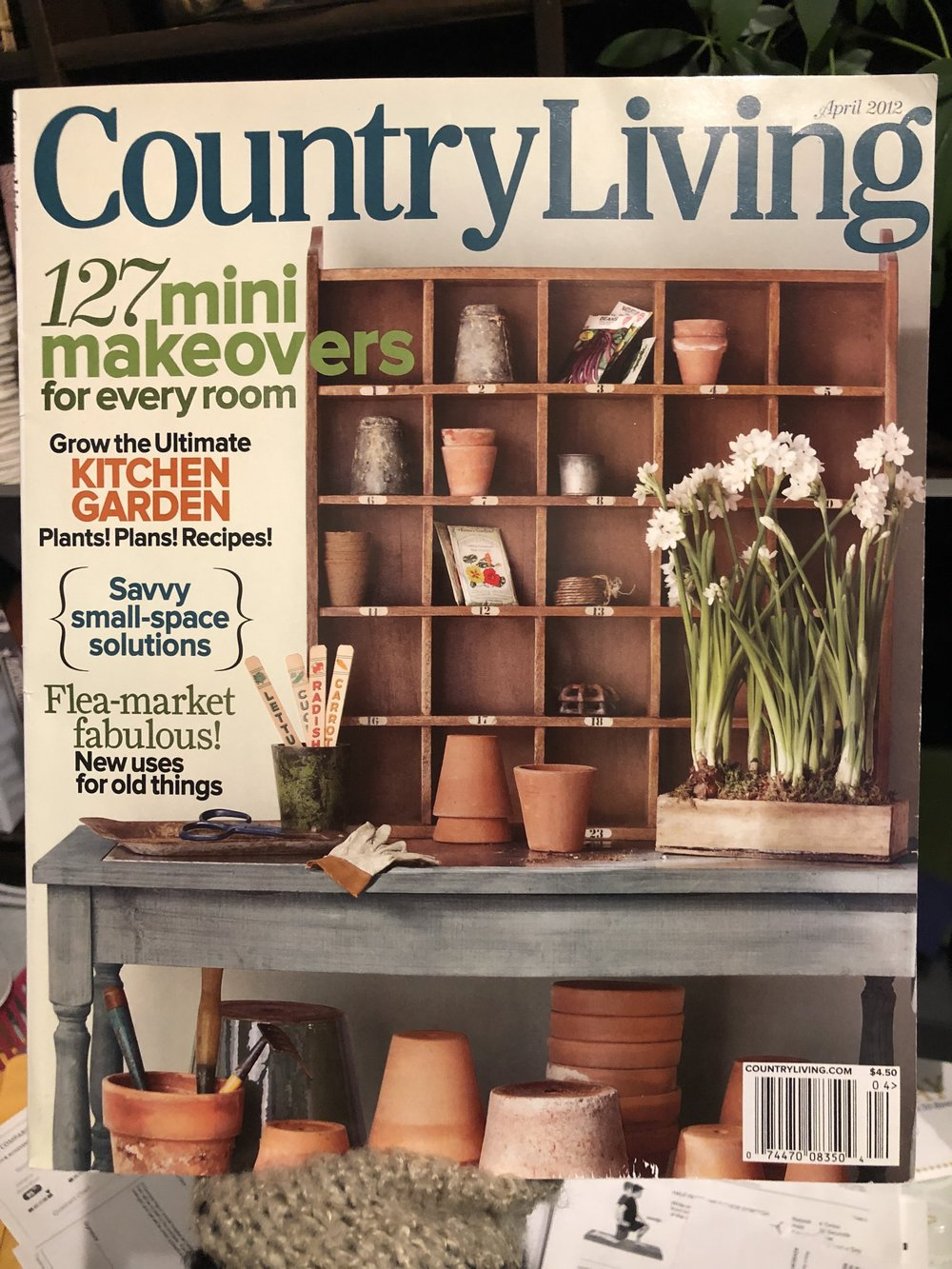 Shutter Wall In Country Living Magazine 2012 Olive Love
