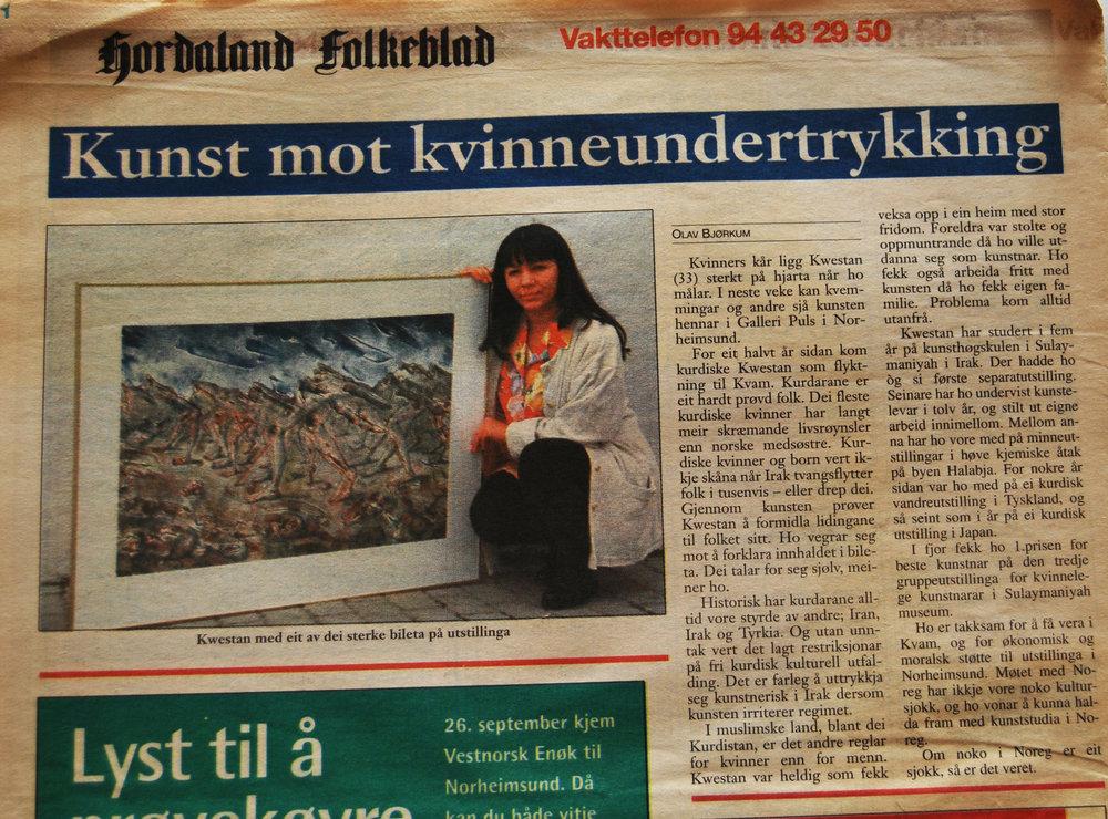 Hordaland Folkeblad. september 1998.jpg