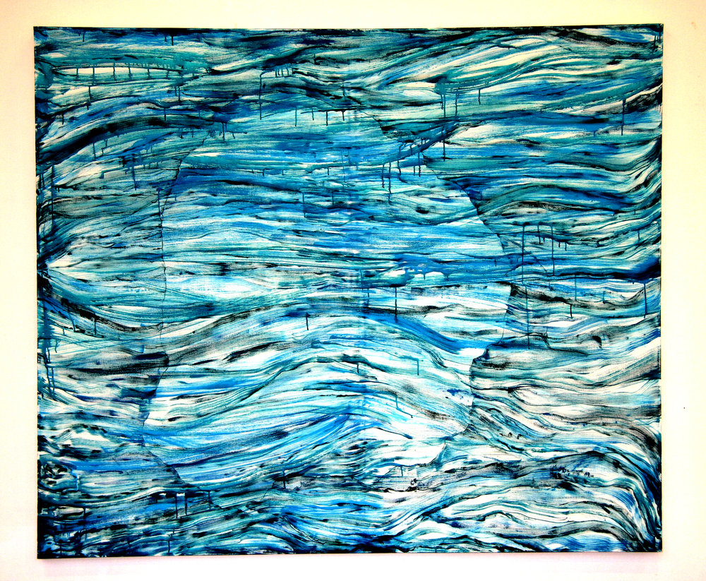 acrylic on canvas. W220 x H180 cm. 2009