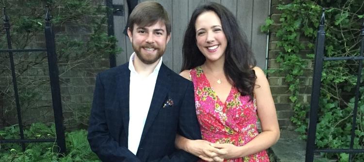 Twickenham Fest Co-Founders and Huntsville natives Matt McDonald and Susanna Phillips.
