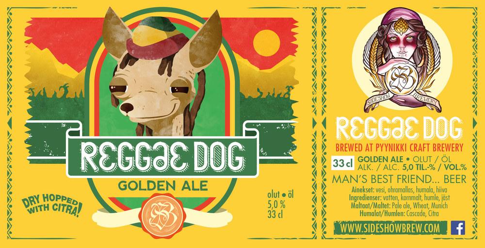 25.9.2015 julkaistavassa Reggae Dogissa tuoksuu mango, papaija ja ananas.