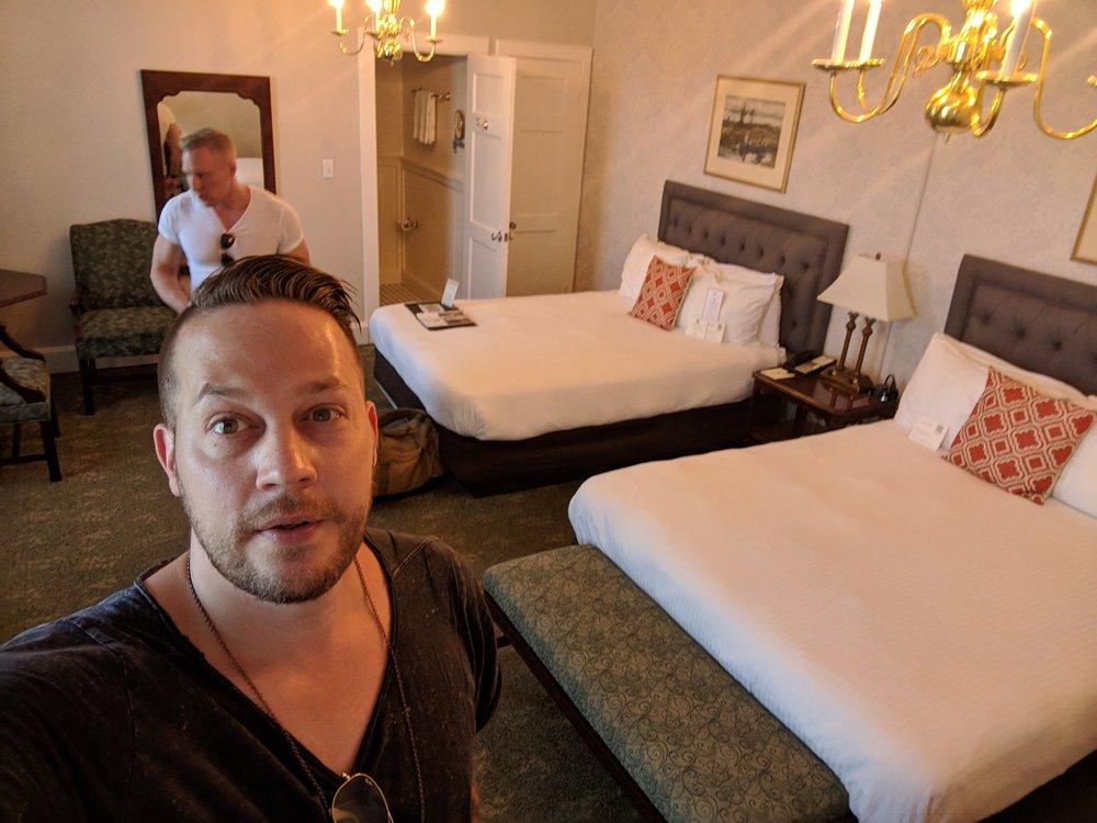 "Hawthornen hotelli kuuluu ""Historic Hotels of America"" liigaan."