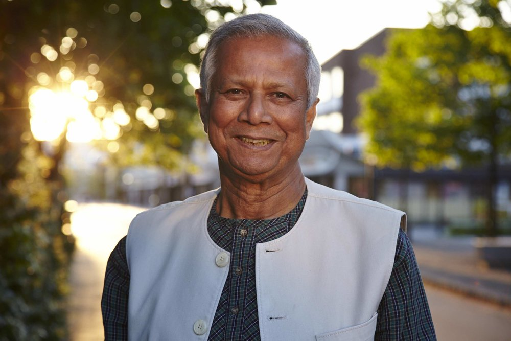 Professor Muhammad Yunus - Co-founder and Chairman
