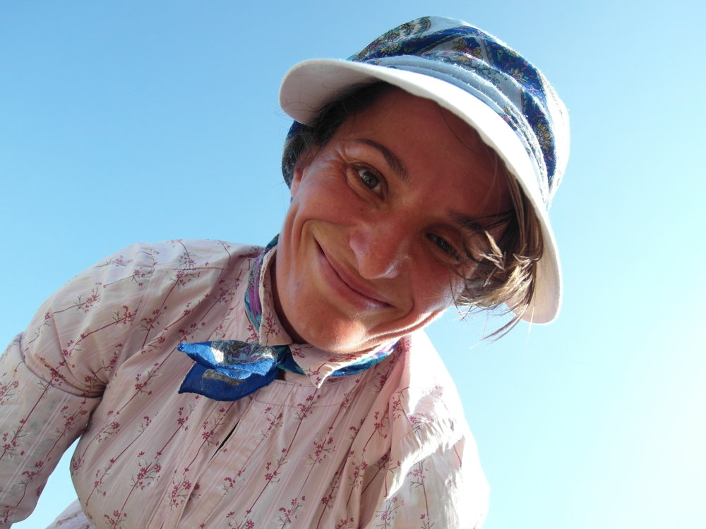 Female Farmer in Albania