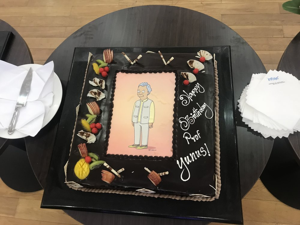 Yunus Simpsons Cake