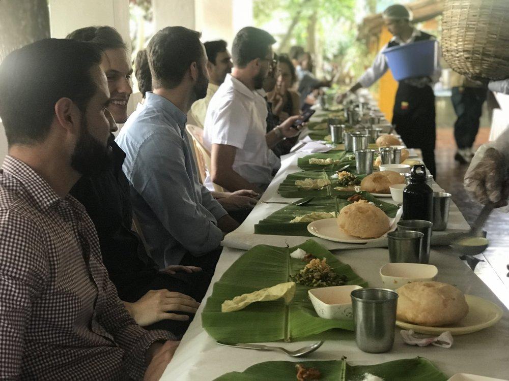 Banana Leaf Traditional Meal