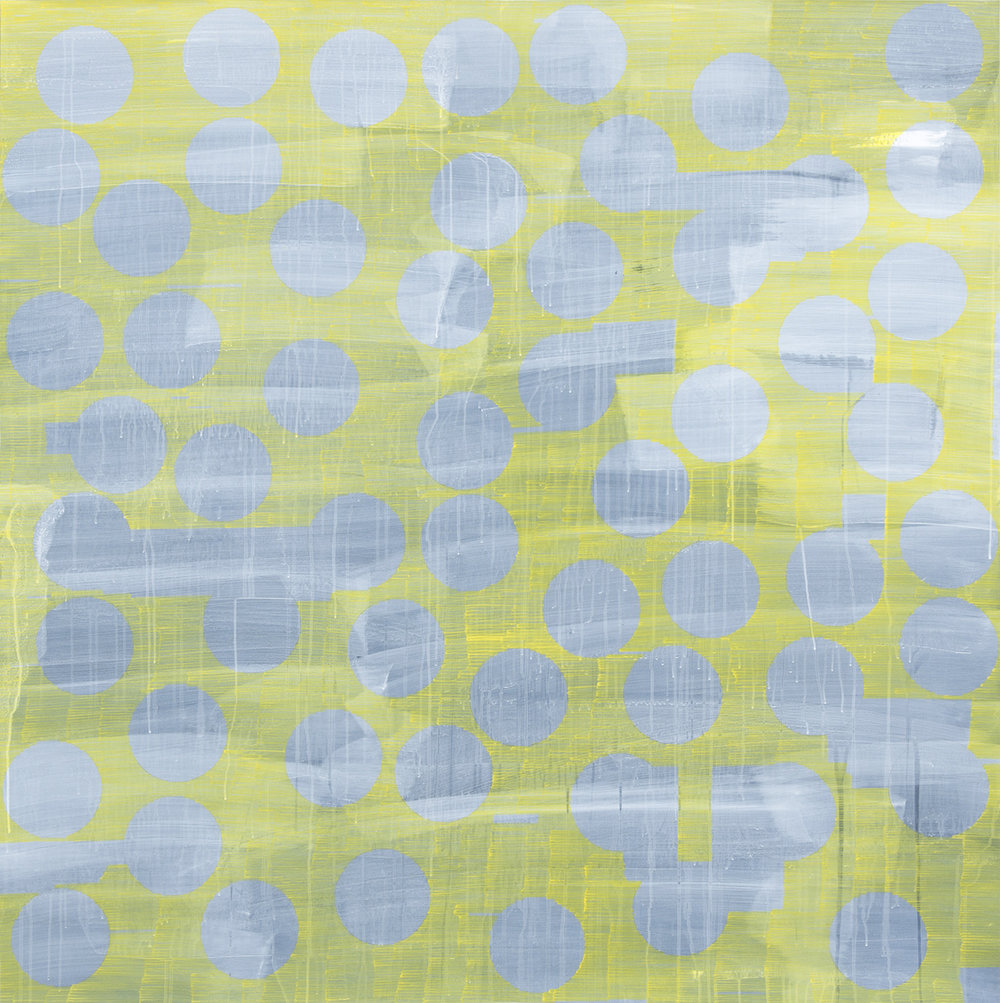 Square Painting (Yellow)