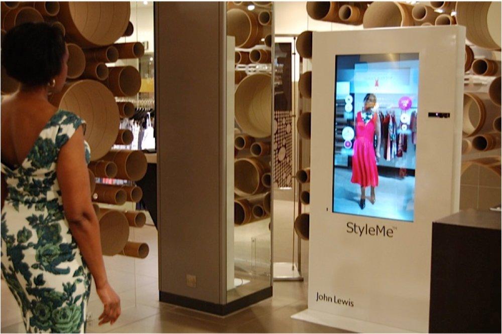 StyleMe Fashion Mirror for John Lewis Oxford Street