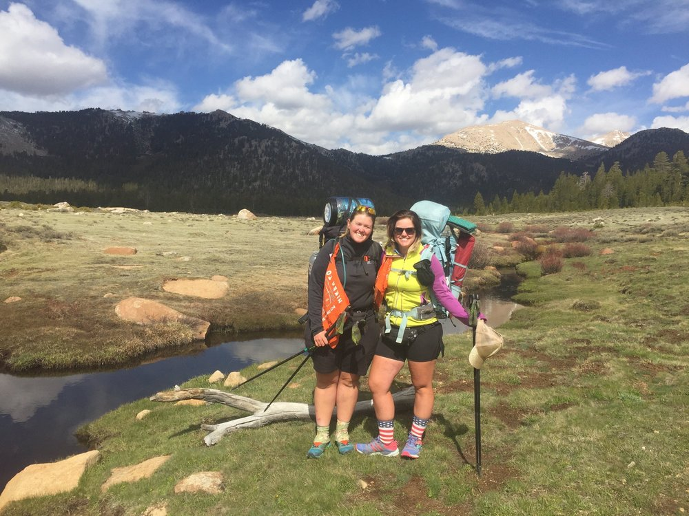 Sisters On Trail Together